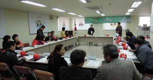 주민자치위원들에게 여성 정치학교~